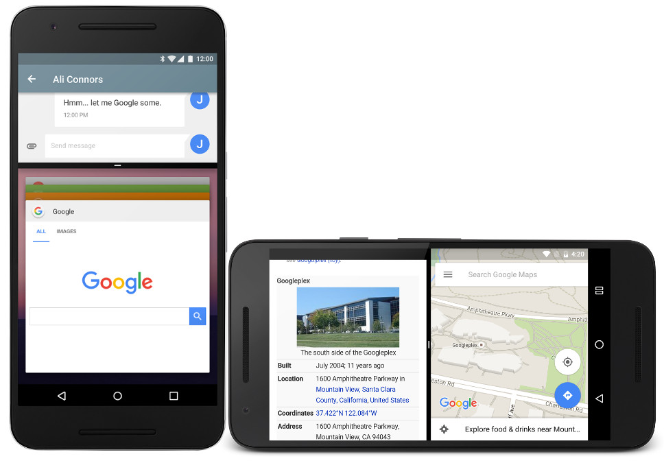 Google releases developer preview images of Android N