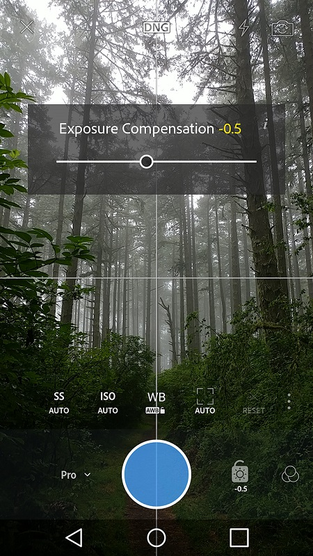 Adobe lightroom for android pro camera mode