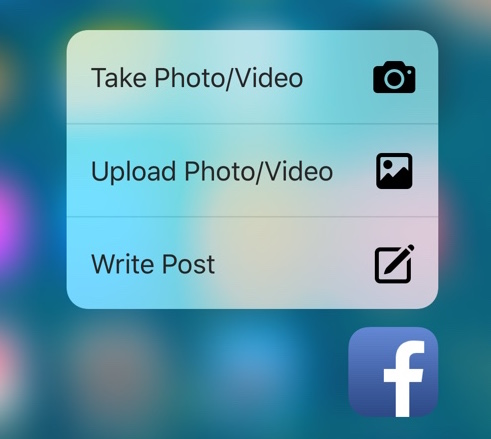 Facebook to add more 3D touch support in its iOS app soon