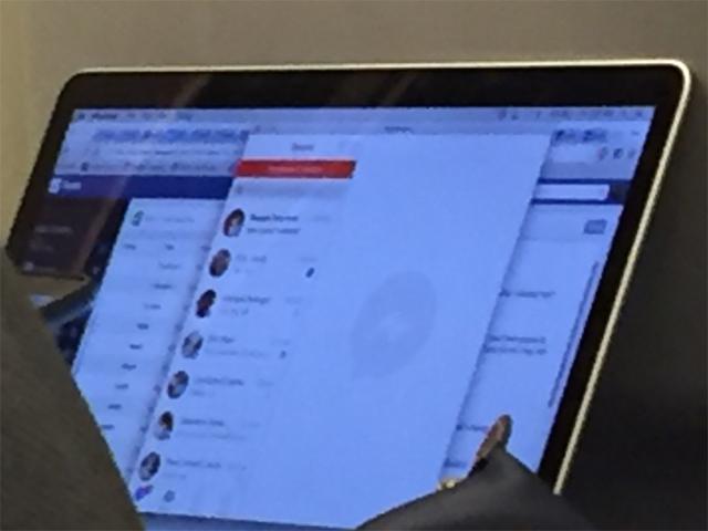 Facebook messenger for Mac users employee