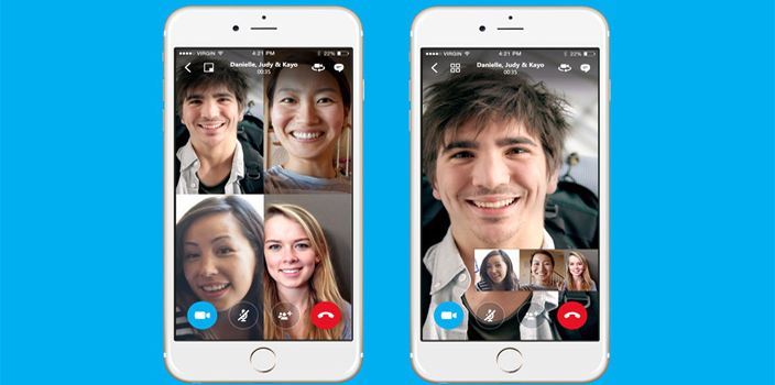 Skype introduces group video calling feature for its mobile apps