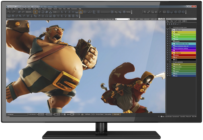 Amazon launched Lumberyard to allow developers to create Games for free
