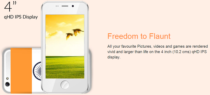 Cash On Delivery Payment Method will be available to buy Freedom 251