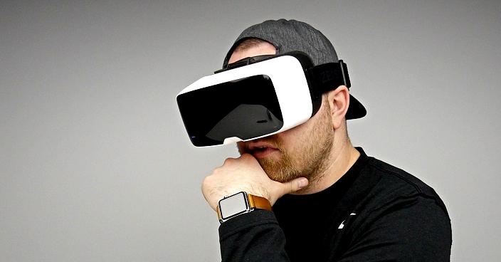 Google Virtual Reality Headset