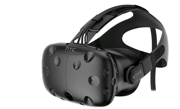 HTC Vive VR headsets