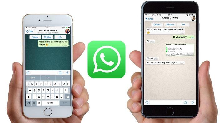 WhatsApp update for iOS