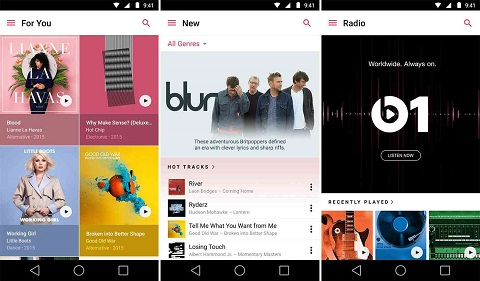 Top Music Apps in Android