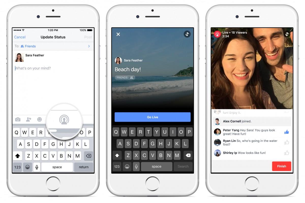 facebook live stream 24 hour broadcasting