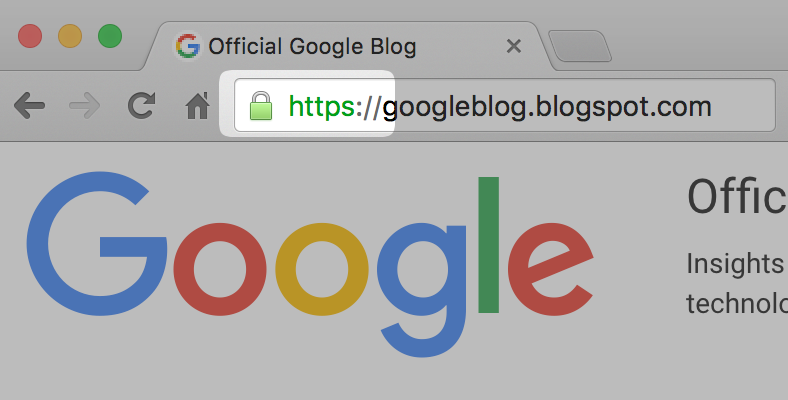 Google Chrome to mark HTTP sites as Not Secure