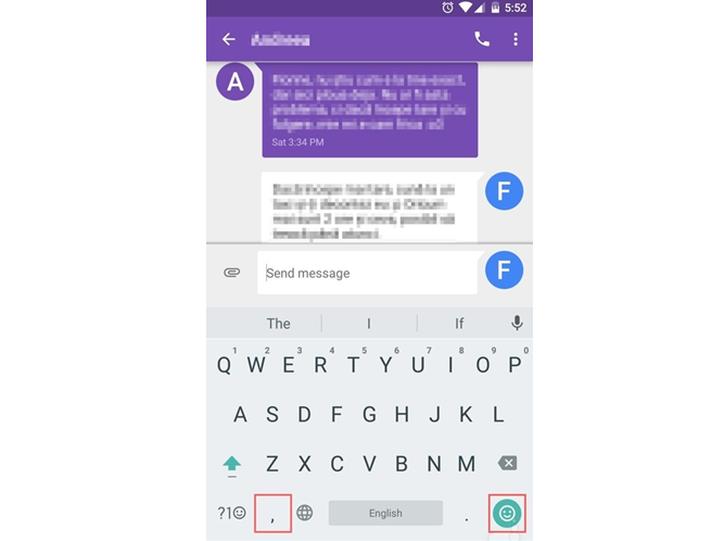 How to enable one-handed mode in Google Keyboard
