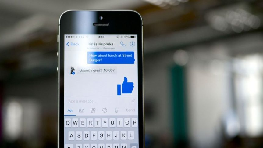 A security flaw in Facebook Messenger