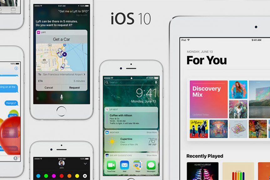 first public beta for iOS 10