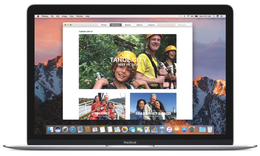 Mac OS Sierra iOS features