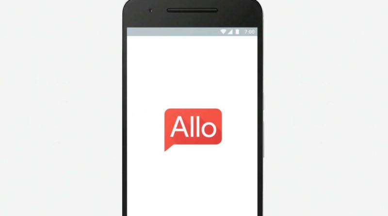 Google Allo launch