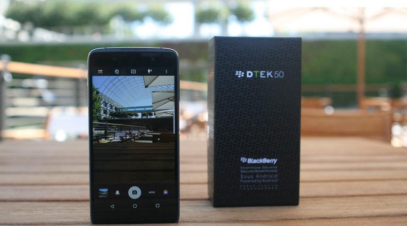 BlackBerry DTEK50 in India