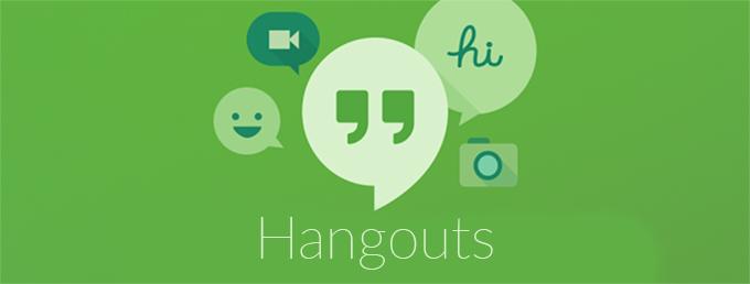 app shortcuts in hangouts