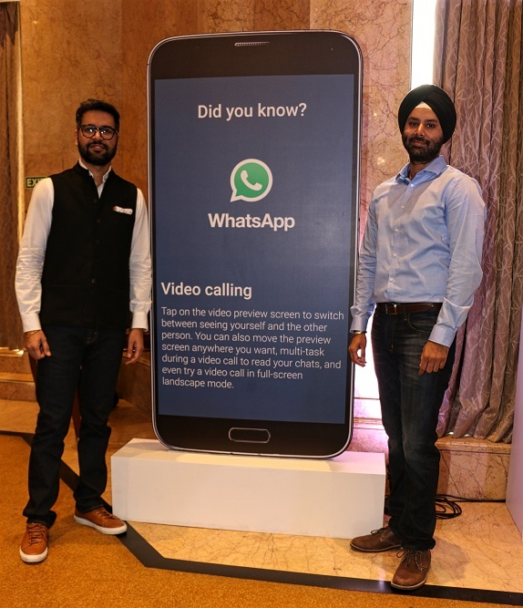 video calling in whatsapp