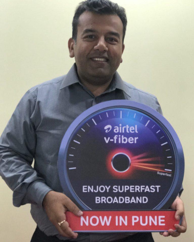 Airtel V-Fiber in Pune