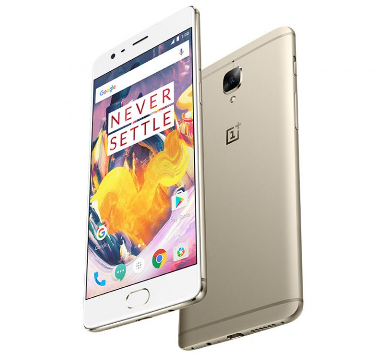 Soft Gold version of OnePlus 3T