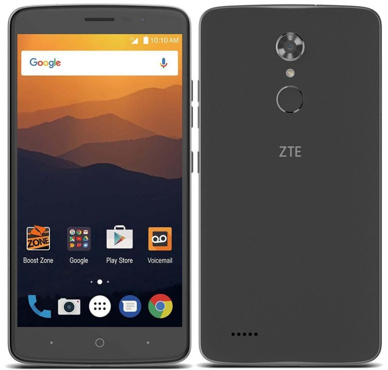 Zte Max Xl With 6 Inch Display 13 Mp Cam 3990 Mah