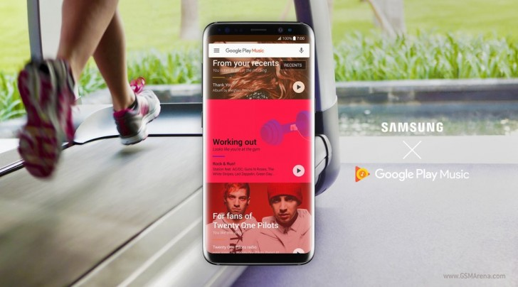 google play music default music player samsung smartphones