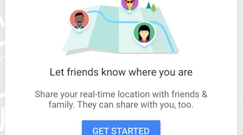 How to share location via Google Maps