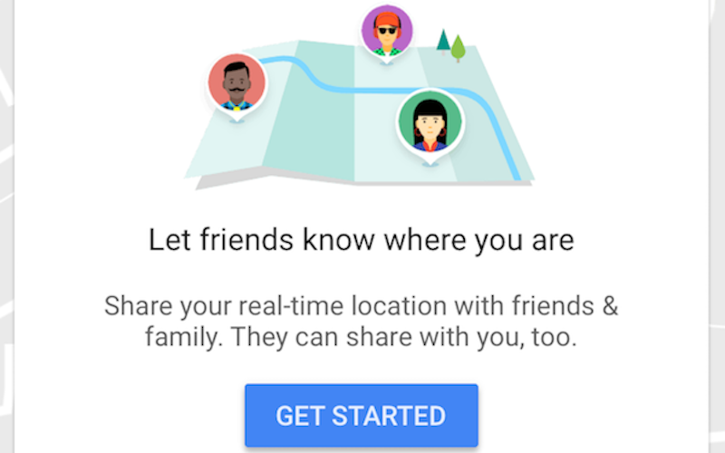 How to share location via Google Maps