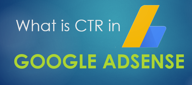 CTR in google adsense