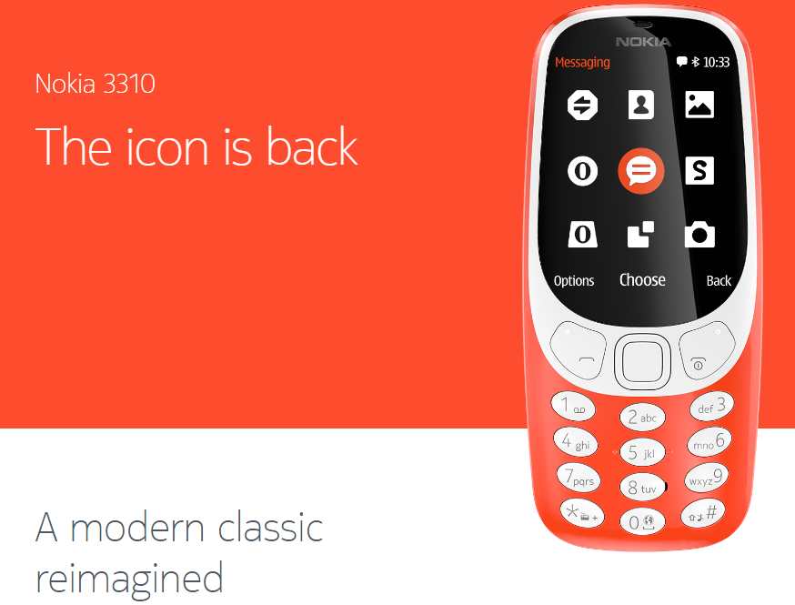 Nokia 3310 dual sim in India