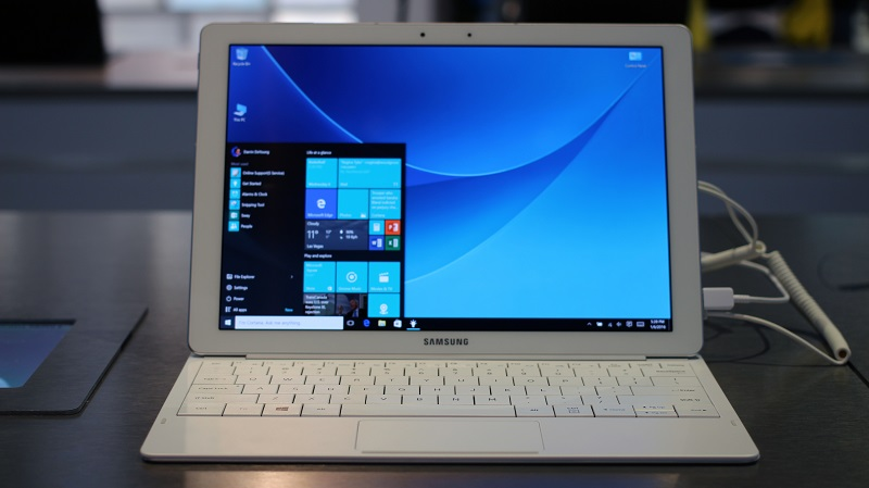 how to use machine on windows 10
