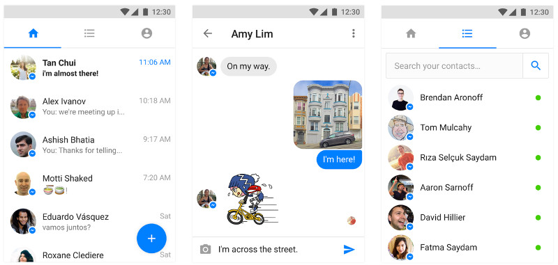 Facebook Messenger Lite app in India is finally real. The social networking giant has launched the lite version of the app in sub-continent.