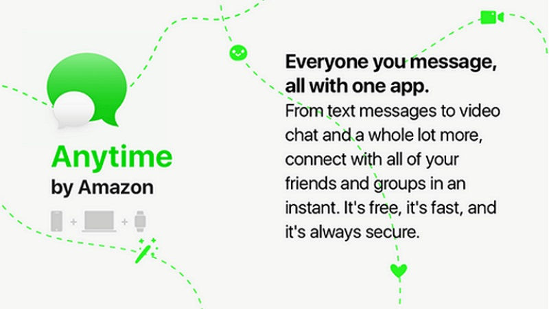 Amazon Anytime messaging service