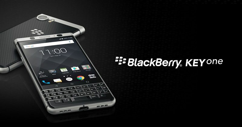 BlackBerry KeyOne in India