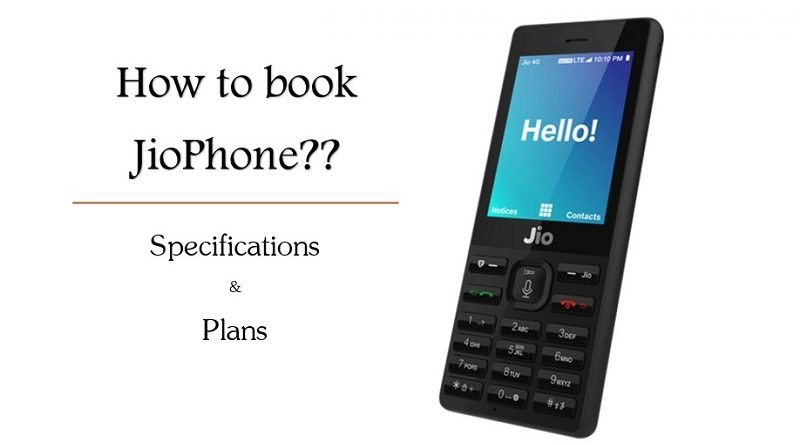 jiophone booking specifications plans