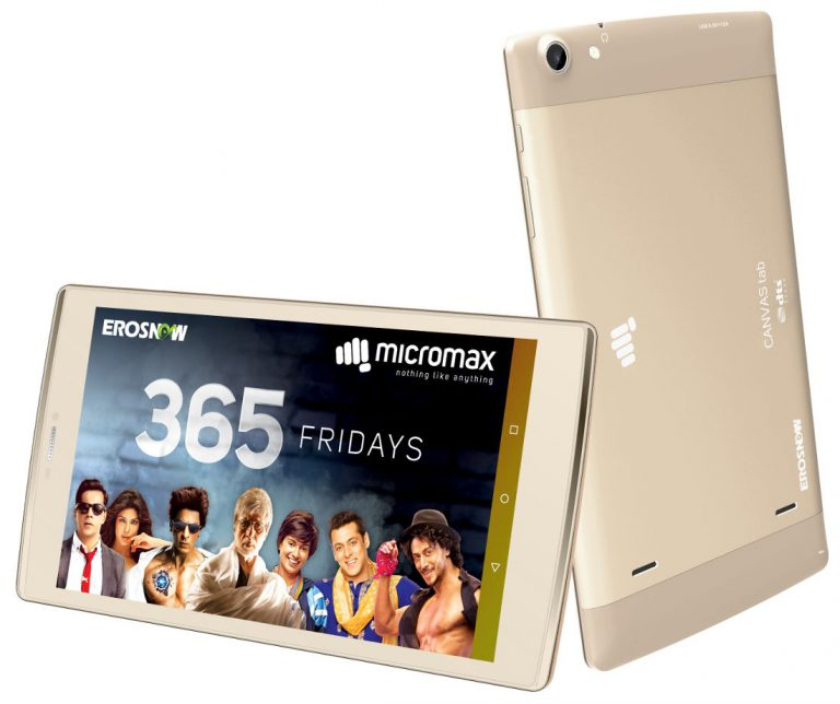 Micromax Canvas Plex tablet launched in India at Rs 12999