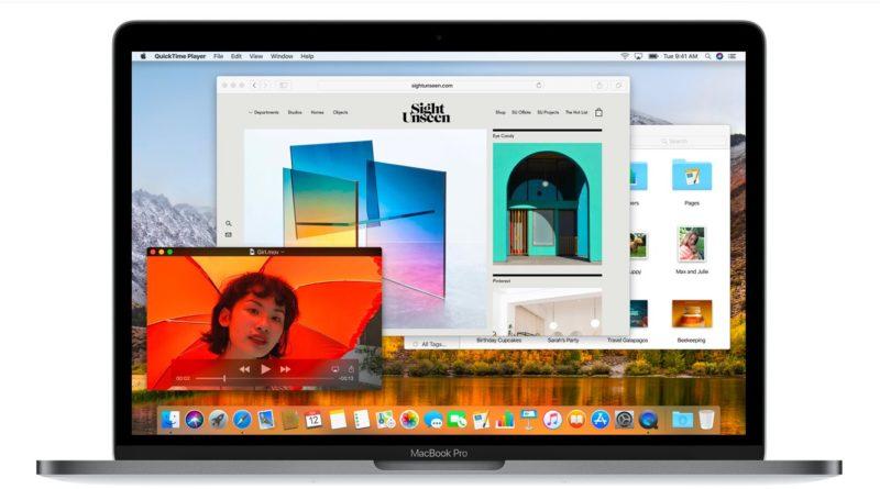MacOS High Sierra Update