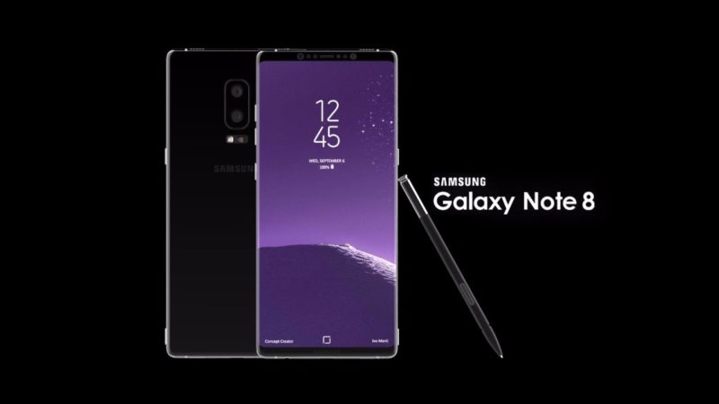 galaxy note 8 battery issue