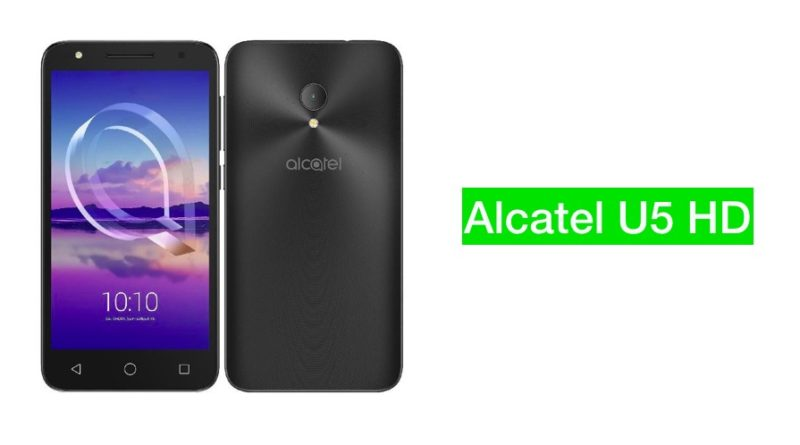 Alcatel u5 hd specifications