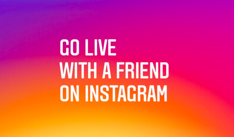 how to add a friend to your live video story on instagram