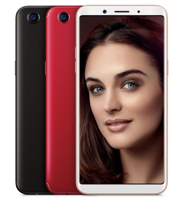 oppo f5 smartphone announced officially