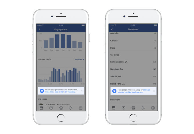 facebook groups get new tools