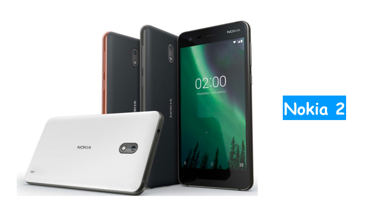 nokia 2 specifications