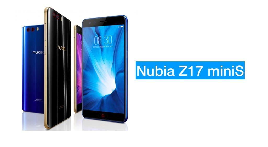 nubia Z17 miniS
