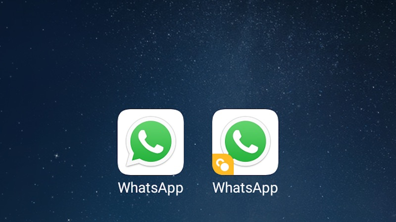 two whatsapp accounts in one mobile