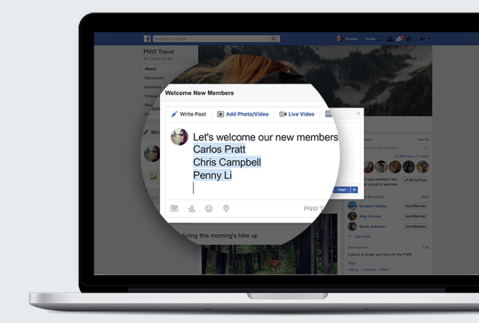 facebook group gets new tools