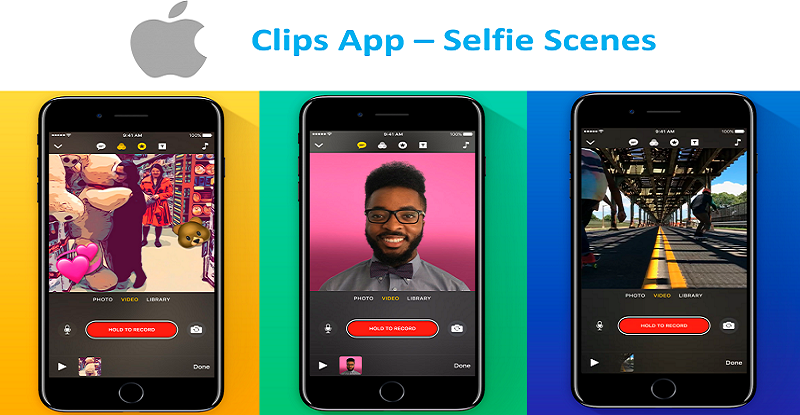Apple Clips App Selfie Scenes