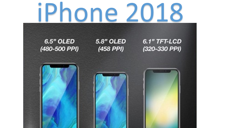 Apple to launch three new smartphone models in 2018