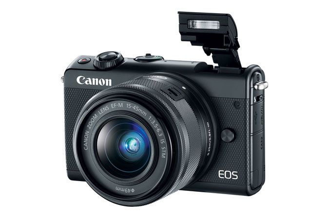 Canon EOS M100 mirrorless camera