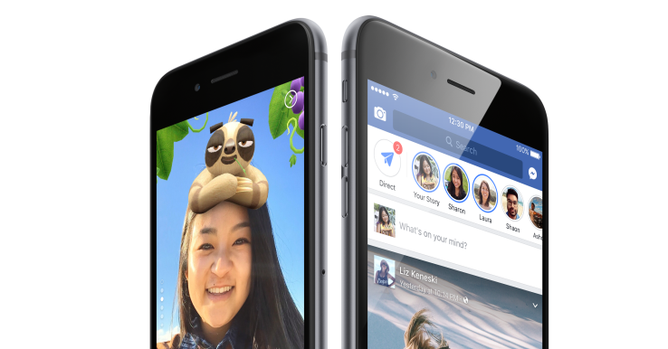 Facebook merges stories on Facebook and Messenger apps