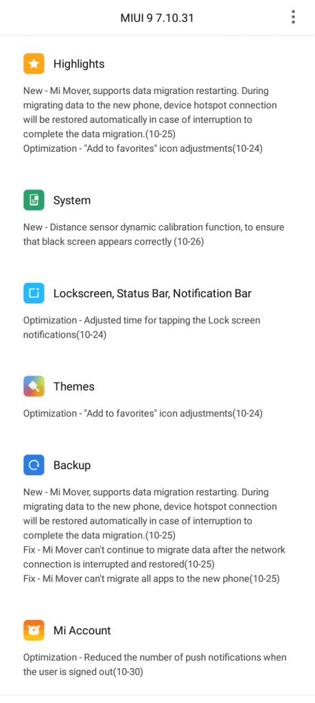 MIUI 9 smart assistant feature